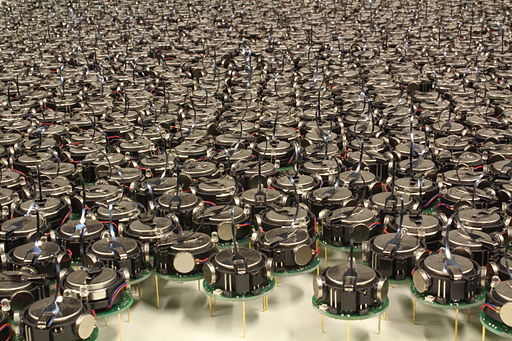Kilobots Used in Swarm Robotics