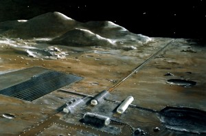 Terriforming to Build a Moon Base